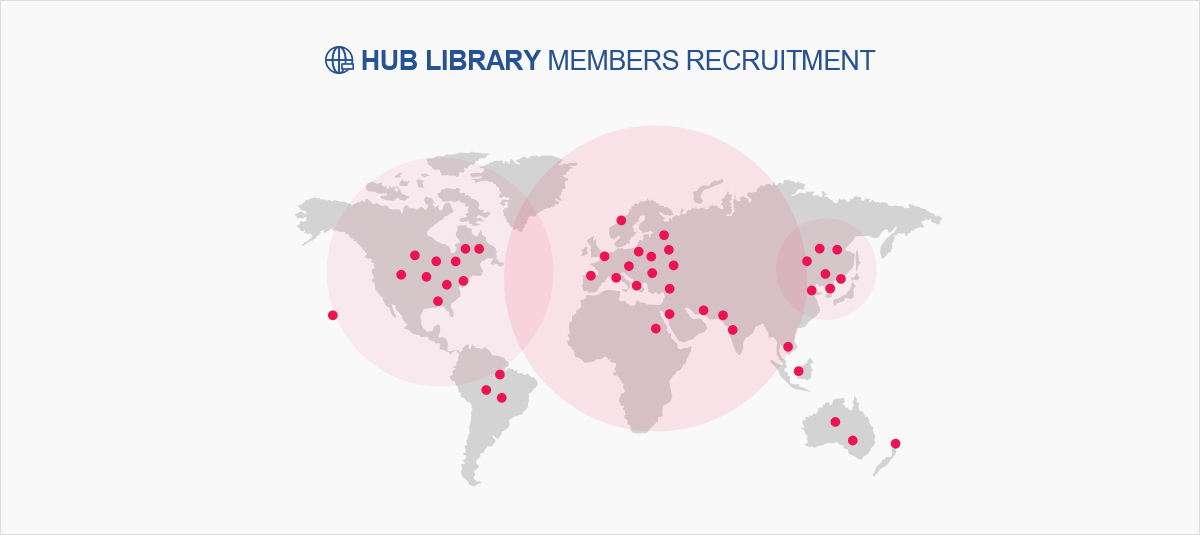 HUB LIBRARY MEMBERS RECRUITMENT